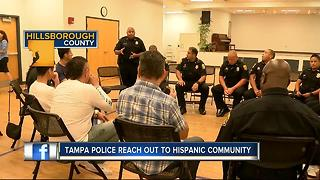 Tampa Police reach out to Hispanic community - Video