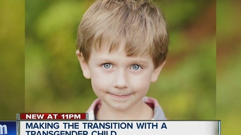 Making the transition with a transgender child
