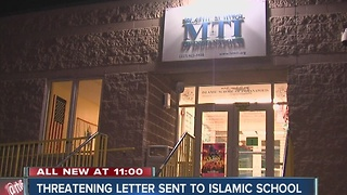 Threatening letter sent to Islamic School - Video