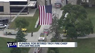Funeral held for retired Troy Fire Chief William Nelson - Video