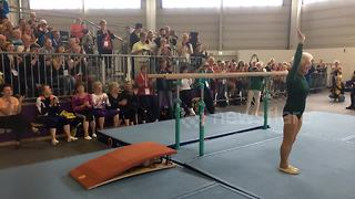 91-Year-Old Gymnast Completes Impressive Routine At Berlin Competition - Video