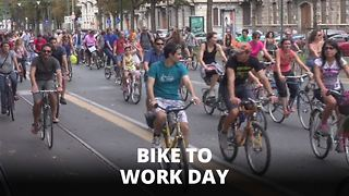 Didn't bike to work? Here's what you're missing out on - Video