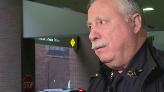 Police Chief Provides Update On Officer-Shooting - Video