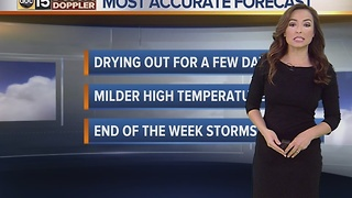 Nice weather ahead of our next storm system - Tuesday, January 17, 2017 - Video