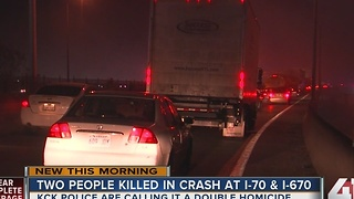 Two shot, killed in vehicle shuts down I-70 - Video