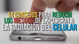 Video: Reduce Tu Exposición a La Radiación Del Celular - Video
