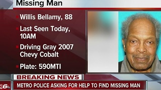 IMPD search for missing 88-year-old man - Video