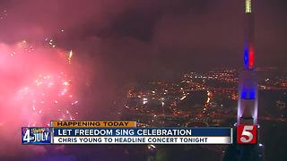 Preparations Underway For Nashville's 'Let Freedom Sing' Celebration - Video