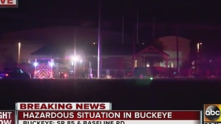 Hazmat situation in the Buckeye area - Video