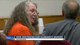 WI woman gets life in prison for killing husband - Video