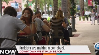 Parklets are making a comeback - Video