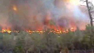 California Resident Captures Footage of Clover Fire in Happy Valley - Video