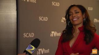 Gina Torres chats about her new gig on ABC's 'The Catch' | Hot Topics - Video