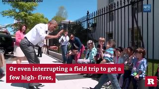 President Obama and the kids | Rare Politics - Video