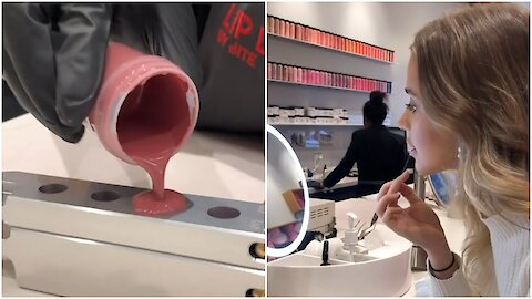 You Can Create Your Own Custom Lipstick At This Chic Spot In Toronto