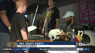 Vegas Golden Knights make first picks in NHL Draft - Video