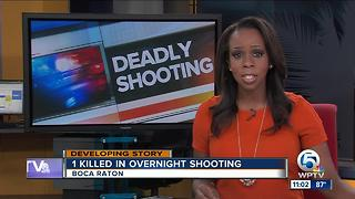 West Boca shooting victim dies from injuries - Video