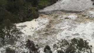 Barwon River Breaks Banks in Geelong Amid Warnings Floods Could Worsen - Video