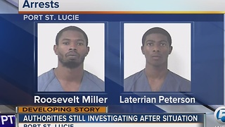 2 arrested on unrelated charges in PSL incident - Video