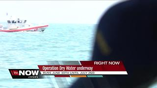 Great Lakes Coast Guard talks about 'Operation Dry Water' - Video