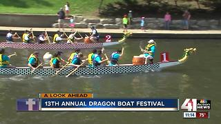 13th Annual Dragon Boat Festival on Saturday - Video