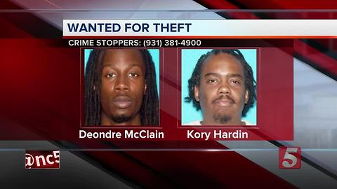 2 Wanted In Separate Columbia Cases