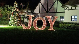 Grinches steal Christmas sign from Hoffman's Winter Wonderland