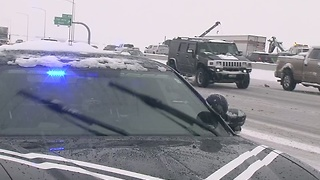 Idaho State Police urge drivers to use caution - Video