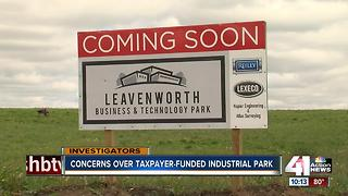 Concerns over taxpayer-funded industrial park - Video