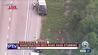 1 person stabbed in I-95 road rage incident in Riviera Beach - Video