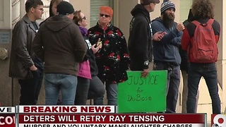 Was there public reaction to the decision to retry Ray Tensing? - Video