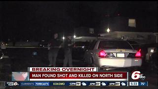 Man found shot and killed on north side