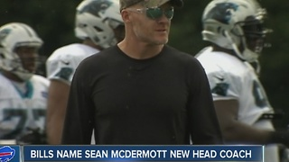 Bills name Sean McDermott new head coach - Video
