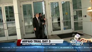 Another ex-Arpaio underling testifies against him in court - Video