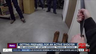 Active shooter training sessions aims to increase preparedness - Video