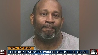 Hillsborough County Children's Services employee accused of hitting child - Video
