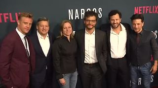 """Narcos"" cast on new season, FARC deal - Video"