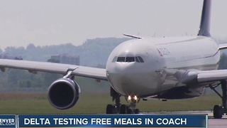 Delta testing free melas in coach - Video