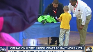 Operation Warm brings coats to Baltimore kids - Video