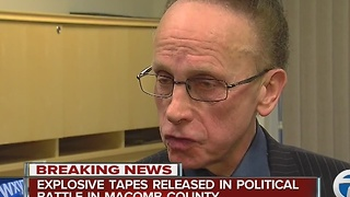 Explosive tapes released in political battle between Mark Hackel, Jim Fouts - Video