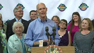 Gov. Scott brings his Fighting for Floridas Future Victory tour to Fort Myers - Video