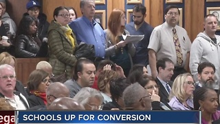 Board meeting explores charter school conversion - Video