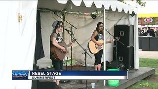 Rebel Stage at Summerfest offers unique experience, relies solely on volunteers - Video