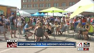 Heat becomes big issue for events around KC metro area - Video