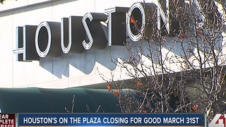 Houston's on Country Club Plaza closing in March - Video