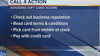 Use caution before buying gift cards and certificates