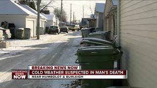 Medical Examiner investigating suspected cold-weather related death in Riverwest neighborhood - Video
