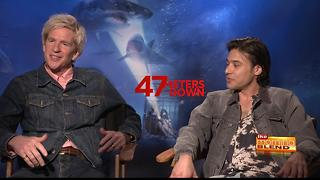 Matthew Modine and Yani Gellman talk 47 Meters Down - Video