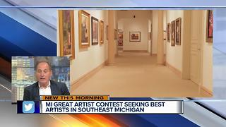 Michigan Great Artist Competition - Video