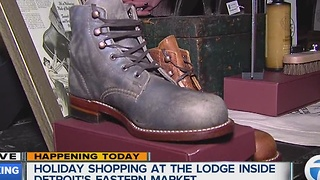 Checking out shoes at The Lodge - Video
